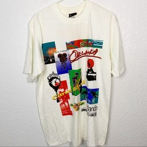 Vintage 94' World Cup Team Jerzees Tee Large